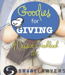 Goodies For GIving Cookbook | Share Lawyers