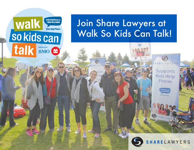 Join Share Lawyers Walk So Kids Can Talk