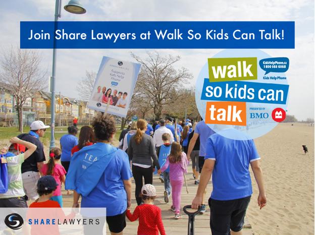 Walk So Kids Can Talk | Share Lawyers